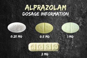 Alprazolam dosages