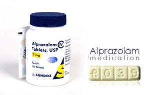 Alprazolam medication