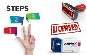 licensed Xanax pills