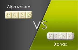 Xanax vs Alprazolam