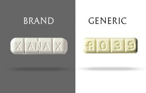 brand and generic xanax