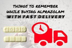 Alprazolam fast delivery