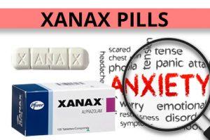 Xanax pill