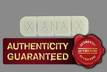 authentic Xanax pills