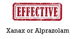 Which is most effective? Xanax or Alprazolam?